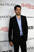 LOS ANGELES - SEP 19:  Nick D'Agosto at the The Hollywood Reporter's Emmy Party at Soho House on Sep