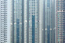 image of overpopulation  - Overpopulated building in city - JPG