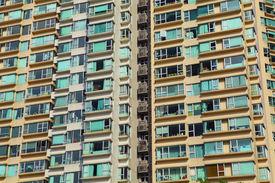 picture of overpopulation  - Overpopulated building in city - JPG