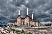 Battersea power station in London, UK. HDR