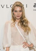 NEW YORK-FEB 5: Model Elsa Hosk attends the 2014 amfAR New York Gala at Cipriani Wall Street on Febr