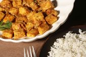 image of paneer  - Paneer korma is rich gravy made with cottage cheese and spices - JPG