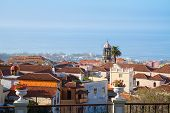 skyline  of Orotava, Tenerife