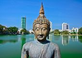 stock photo of vihara  - Sri Lanka - JPG