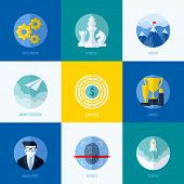 image of social-security  - Modern flat vector concepts for websites mobile apps and printed materials - JPG