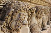 foto of garuda  - Garuda on wall in Buddhism temple style - JPG