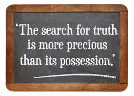 foto of einstein  - the search for truth is more precious than its possession  - JPG