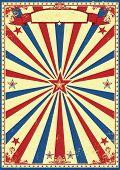 image of patriot  - Patriotic retro sunbeams background - JPG