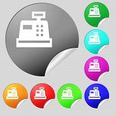 picture of cash register  - Cash register icon sign - JPG
