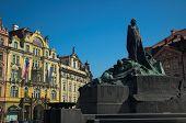 Jan Hus Monument poster