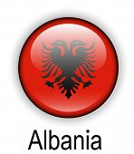 foto of albania  - albania official state flag - JPG