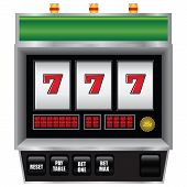 foto of combinations  - Scoreboard slot machine with a winning combination - JPG