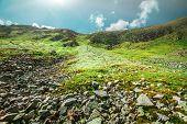 stock photo of mountain-range  - Chorna hora mountain range - JPG