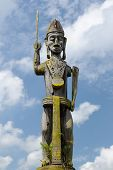 picture of cultural artifacts  - Traditional Dayak tribal culture - JPG