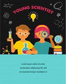 image of scientist  - Young scientist - JPG