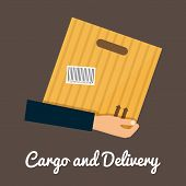 foto of shipping receiving  - Cargo and delivery - JPG
