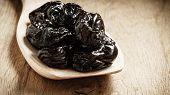 stock photo of prunes  - Healthy food good cuisine - JPG