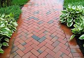 Brick Sidewalk - Pattern