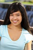 foto of 16 year old  - a 16 year old girl smiling for her portrait - JPG