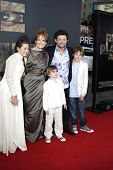 LOS ANGELES, CA - JUL 28: Andy Serkis; Lorraine Ashbourne, Sonny, Louis, Ruby at the Premiere of 'Ri