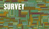 stock photo of collate  - Public Survey Collection of Data on a Demographic - JPG