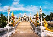 Wat Kaew Temple In Krabi, Thailand. Wat Kaew Is One Of The Main Temples In Krabi Province poster