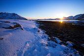 Beautiful Norwegian Landscape poster