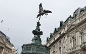 picture of ero  - Eros located at Piccadilly Circus in London - JPG