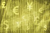 Banking And Wealth Abstract Background