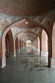 picture of tabriz  - Arches in the Blue Mosque in Tabriz - JPG