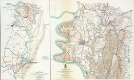 foto of rebs  - Map of battle of Antietam  from Atlas to Accompany the Official Records of the Union  - JPG