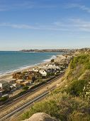 picture of pch  - Dana Point looking North from Capistrano Beach in a Vertical Orientation - JPG