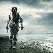stock photo of poison  - Environmental disaster - JPG