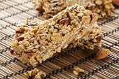 Organic Almond And Raisin Granola Bar
