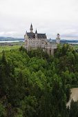 Neuschwanstein Castle in Hohenschwangau, Bavaria, Germany.