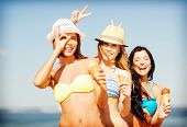 stock photo of mating  - summer holidays and vacation  - JPG