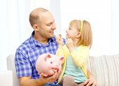 stock photo of piggy  - family - JPG