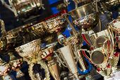 image of keepsake  - Set of winning trophies for the contestants - JPG