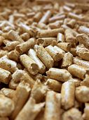 eco-friendly material for lichens heizenl for winter are made of wood pellets.