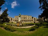 the fabulous museum of asiatic art in Esplanada Square at Corfu island Greece