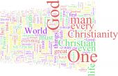 stock photo of antichrist  - A word cloud based on the  - JPG