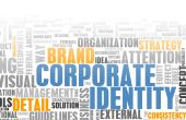 stock photo of mass media  - Corporate Identity in the Marketing World Art - JPG