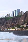 Coast of Miraflores, Lima, Peru