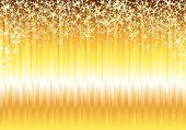 foto of gold glitter  - Shiny gold background - JPG