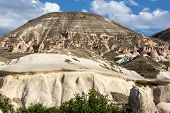image of goreme  - Rock formations in Goreme National Park - JPG