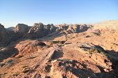 foto of petra jordan  - Nabataeans capital city (Al Khazneh) Petra Jordan. ** Note: Visible grain at 100%, best at smaller sizes - JPG
