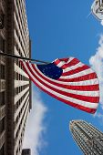 foto of betsy ross  - US variant Betsy Ross flag in Chicago - JPG