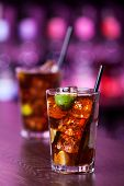 picture of oz  - Cuba libre is a famouse cuban cocktail. It is made of: