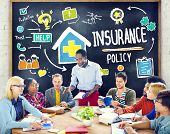 pic of policy  - Diversity Casual People Insurance Policy Studying Policy Concept - JPG