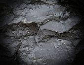 stock photo of tar  - Tar glue black dark texture or background - JPG